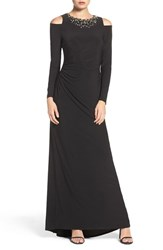 Vince Camuto Women's Embellished Stretch Gown