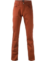 Hudson 'Byron' Straight Leg Jeans Yellow And Orange