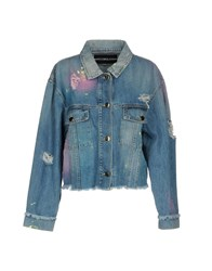 Marco Bologna Denim Outerwear Blue