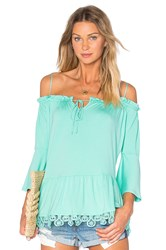 Vava By Joy Han Bambi Bell Sleeve Top Mint