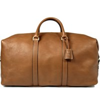 Mulberry Clipper Leather Holdall Brown
