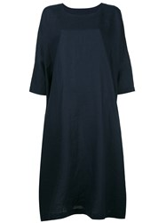 Daniela Gregis Oversized T Shirt Dress Blue