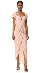 Zimmermann Silk Flutter Long Dress Lily
