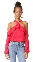 Saylor West Blouse Red
