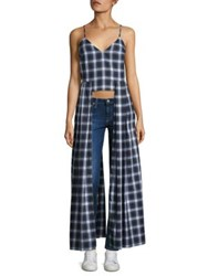 Petersyn Bristol Boyfriend Plaid Long Tank Top Dover