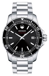 Movado 'Series 800' Bracelet Watch 40Mm