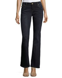 Kut From The Kloth Natalie Flap Pocket Bootcut Jeans Blue