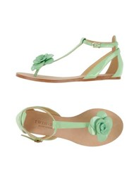 Twin Set Simona Barbieri Footwear Thong Sandals Women