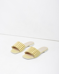 Opening Ceremony Mazzy Slide Wheat Yellow