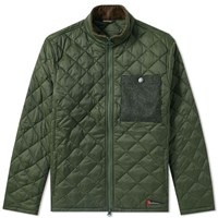 Barbour Abaft Quilted Jacket Green
