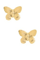 Yochi Design Butterfly Earrings No Color