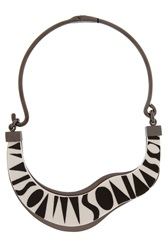 Missoni Logo Branded Necklace