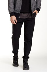 Micros Garth Chino Jogger Pant Black