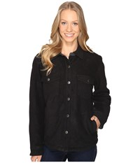 Royal Robbins Foxtail Fleece Shirt Jack Jet Black Women's Fleece