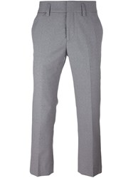 Marc Jacobs Cropped Tailored Trousers Grey