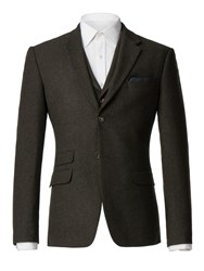 Racing Green Men's Donegal Tailored Jacket Green