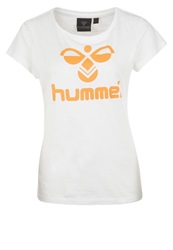 Hummel Classic Bee Print Tshirt White Sun Orange