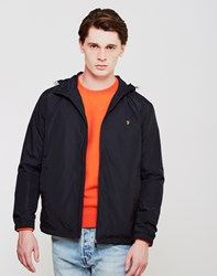 Farah Newbern Hooded Jacket Black