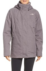 The North Face Women's 'Kalispell' Triclimate 3 In 1 Jacket Rabbit Grey Heather