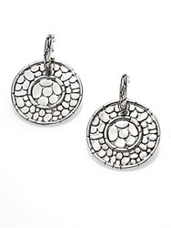 John Hardy Kali Sterling Silver Disc Drop Earrings