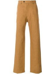 Salvatore Ferragamo Slim Fit Trousers Brown