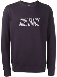 A.P.C. 'Substance' Jumper Pink And Purple