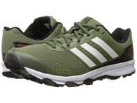 Adidas Duramo 7 Trail Base Green Craft Green White Men's Running Shoes