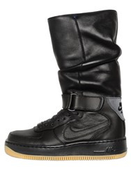 Nike Upstep Warrior Leather Sneaker Boots