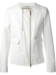 Emilio Pucci Double Zip Jacket White