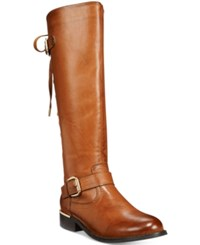 Wanted Lounge Lace Up Riding Boots Women's Shoes Tan