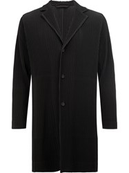 Homme Plisse Issey Miyake Pleated Light Weight Jacket Black