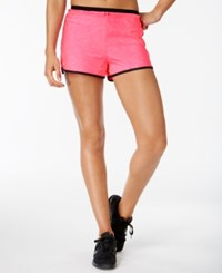 Ideology Rapidry Training Shorts Only At Macy's Molten Pink