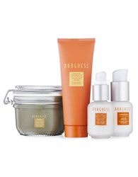 Borghese Four Piece Daily Skin Regime 122.00 Value No Color