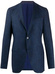 Etro Fitted Single Breasted Blazer 60