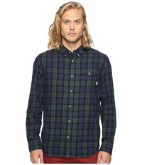 Vans Lachlan Flannel Green Gables Dress Blues Men's Clothing