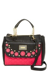 Betsey Johnson In Bloom Satchel Pink