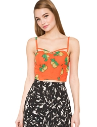 Pixie Market Pineapple Crop Top