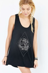 Ecote 4Th And Rose Star Tee Black