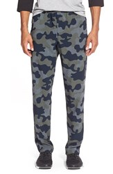 Men's Athletic Recon 'Combat' Sretch Woven Training Pants Navy Camo