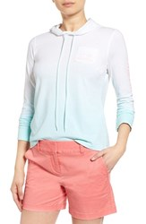 Women's Vineyard Vines Ombre Hooded Long Sleeve Tee