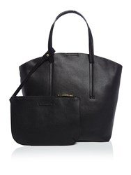Therapy Keaton Tote Bag With Pouch Black