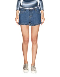 Molly Bracken Denim Shorts Blue
