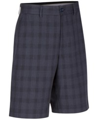 Greg Norman For Tasso Elba Men's Big And Tall Willis Plaid Shorts Only At Macy's Navy