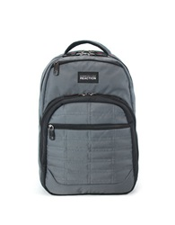 Kenneth Cole Reaction Wreck Double Gusset 16 Inch Computer Backpack Grey