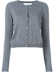 Red Valentino Buttoned Cardigan Grey