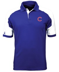 Antigua Men's Chicago Cubs Century Polo Royalblue White