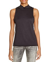 Knot Sisters Turtleneck Tank Black