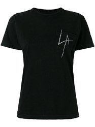 Local Authority La Splash Pocket T Shirt Black