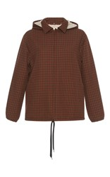 Marni Checkered Jacket Brown