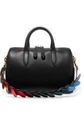 Anya Hindmarch Vere Barrel Leather Tote Black